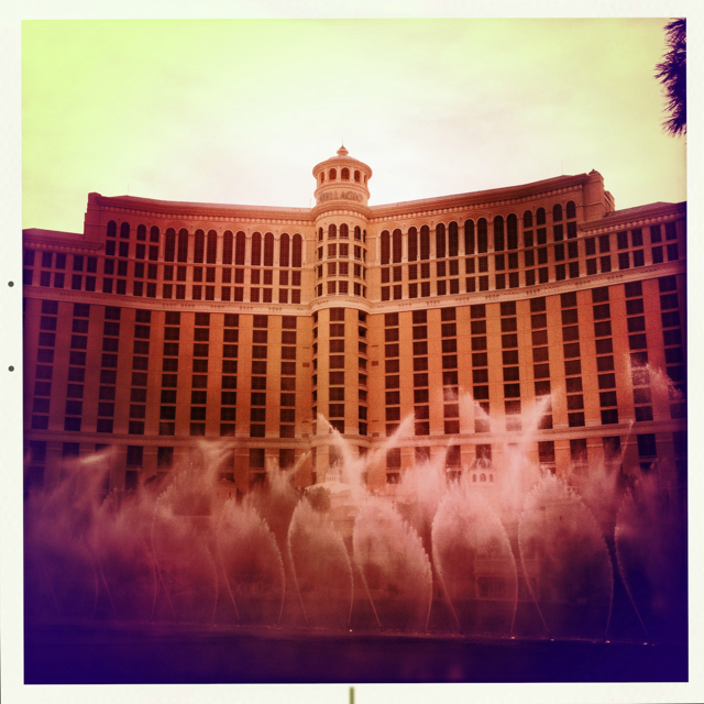 the fountain of Bellagio