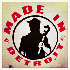 made in detroit print