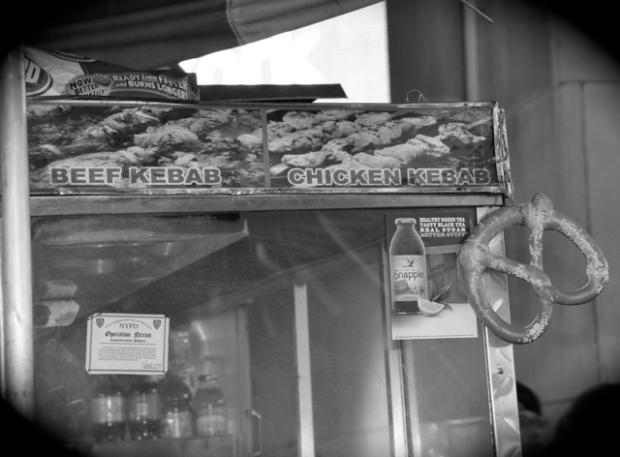 pretzel food cart