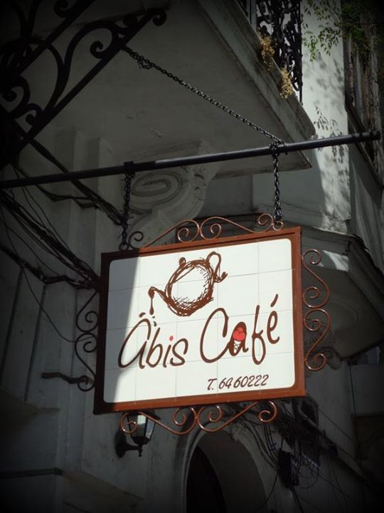 my favorite coffee shop by the town square