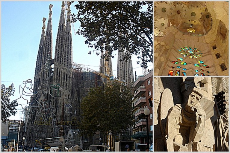 Sagrada Familia, under construction since 1882