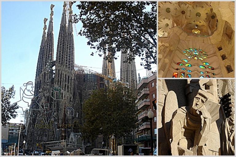 Sagrada Familia, under construction since 1882