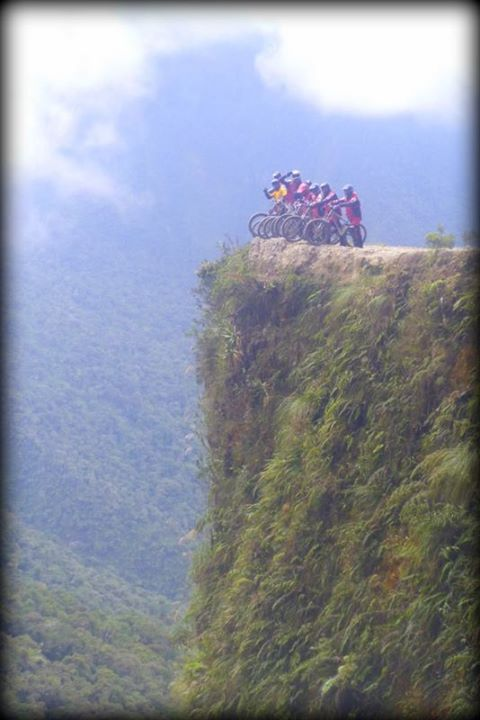 bike  cliff