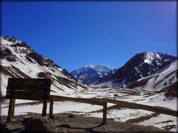 Cerro Aconcagua viewpoint