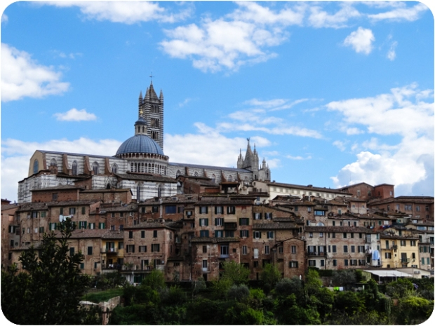 panoramic view of Siena