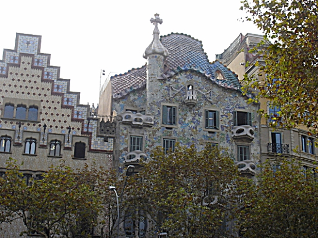 Casa Battló and Casa Amatller