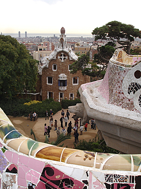 Park Güell, designed by the Catalan architect Antoni Gaudí