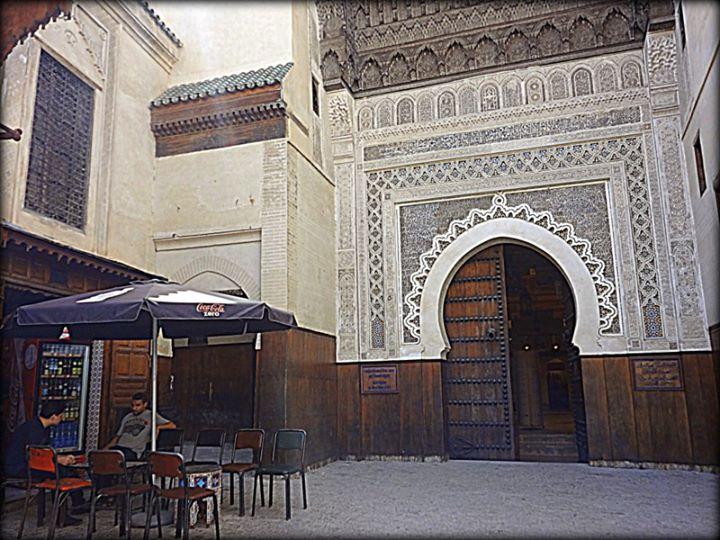 in Fez medina