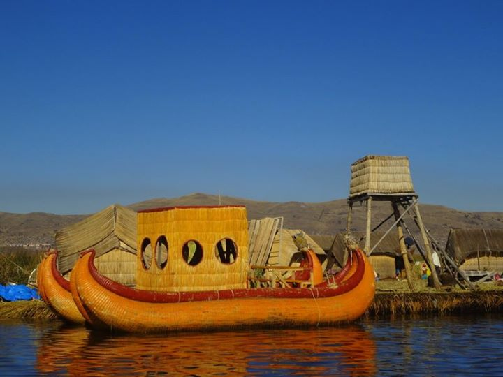 the floating islands of Uros