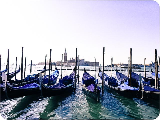 blue gondola