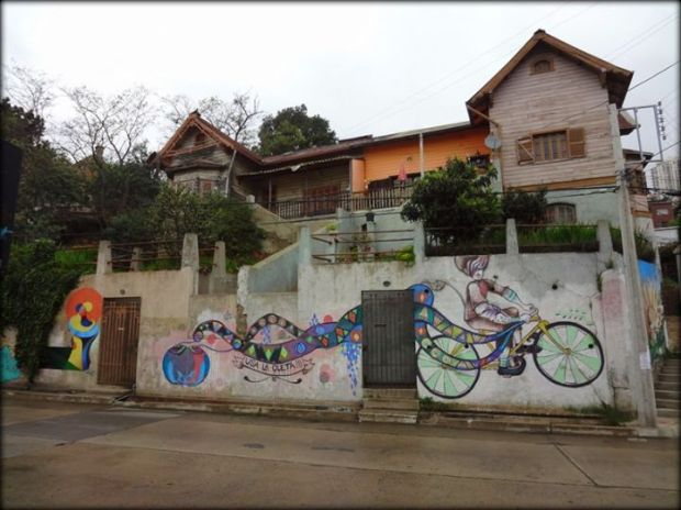 grafitti house