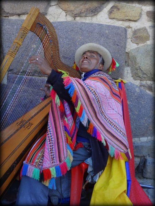 harp man