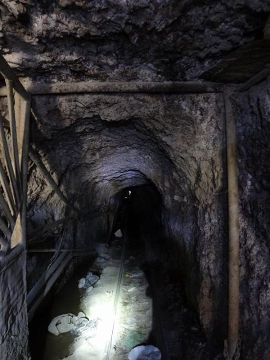 Interior of the Mine