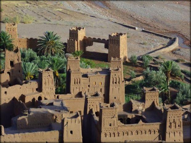 the Kasbahs of Imlil