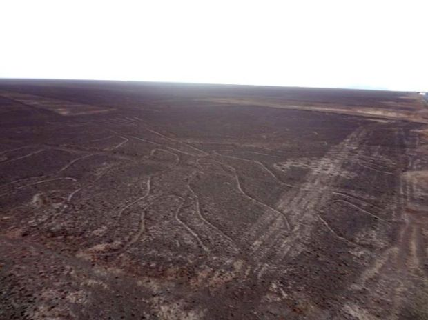 Nasca lines from the viewpoint