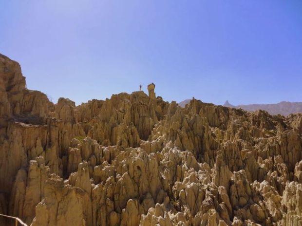 Valle de La Luna: clay formations