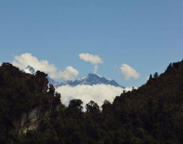 mountain smoke