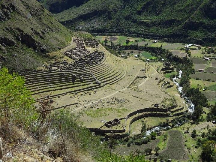 Patallaqta ruins