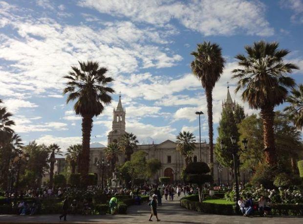 Plaza de Las Armas, Arequipa