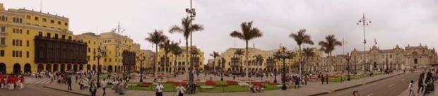 Plaza de las Armas, Lima