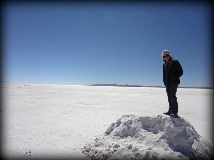 salt flats and me