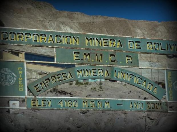 sign of the mines
