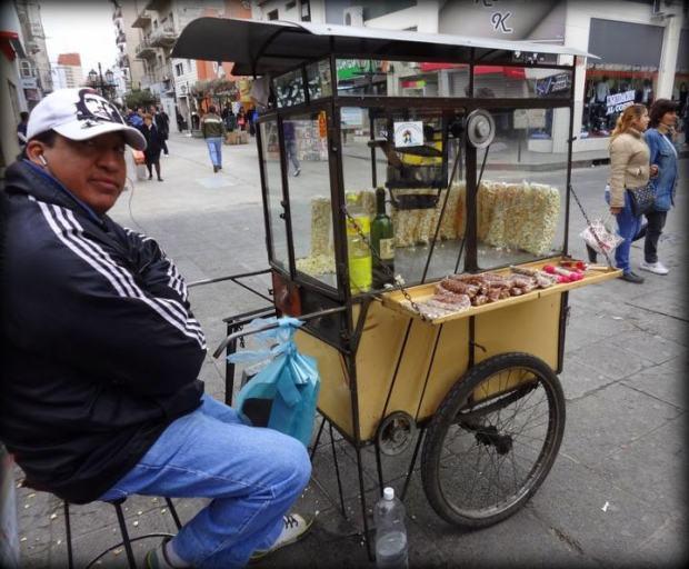 street vendor in Salta