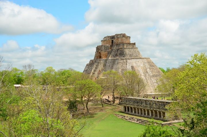 panoramic view of Uxmal