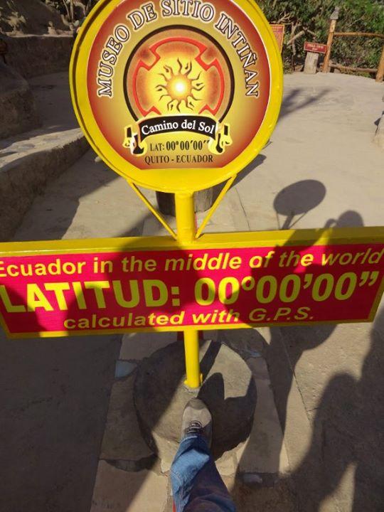 The Ecuator Line