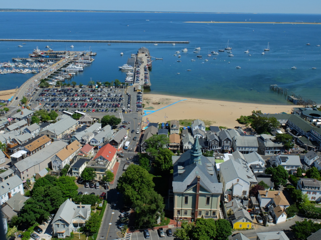view from the Pilgrim monument