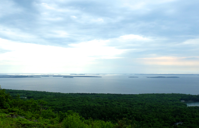 Penebscot Bay from Mt. Battie