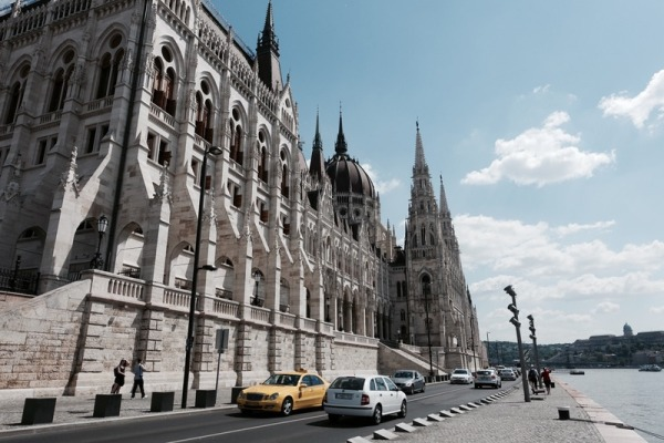 parliament by danube river