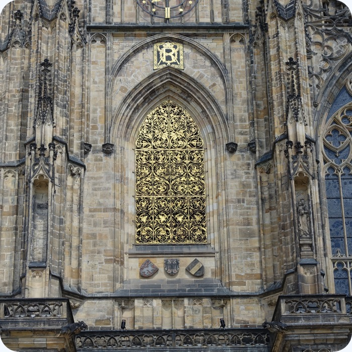 gold details, St Vitus Cathedral
