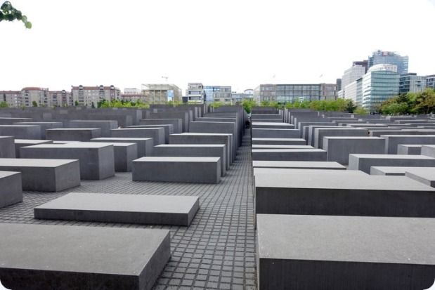 Holocaust Memorial by architect Peter Eisenman.  A very informative museum is located underneath.