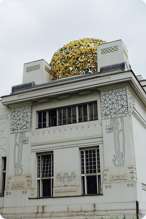 Secession building, aka, the Golden Cabbage