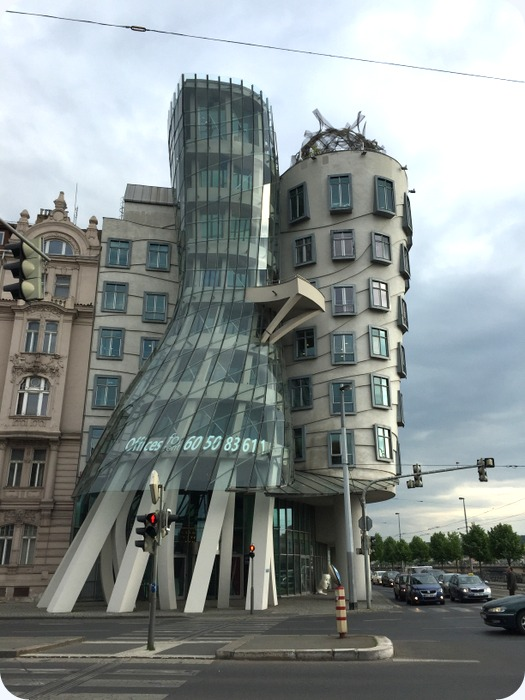 Dancing House (or Fred and Ginger) by Czech architect Vlado Milunić