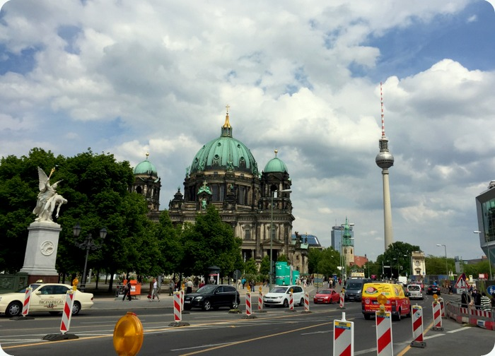 Berlin Cathedral and the TV Tower