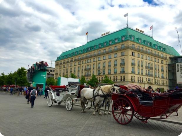 Hotel Adlon, famous 5-star hotel by the Brandenburg Gate