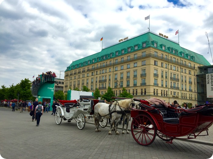 Hotel Adlon, famous 5-star hotel by the Brandenburg Gate