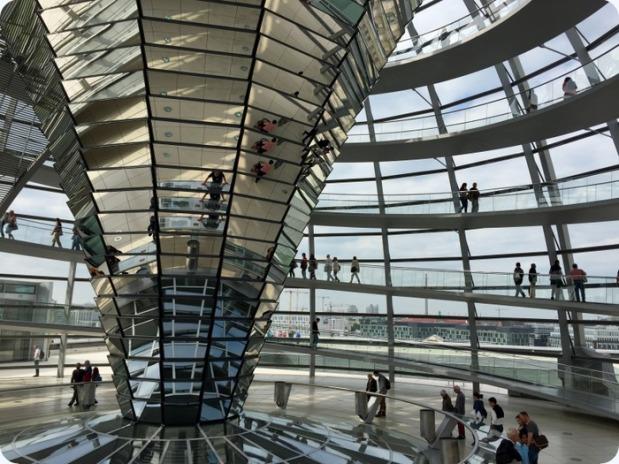interior Reichstag dome