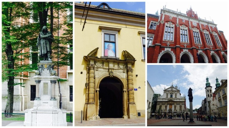 krakow buildings