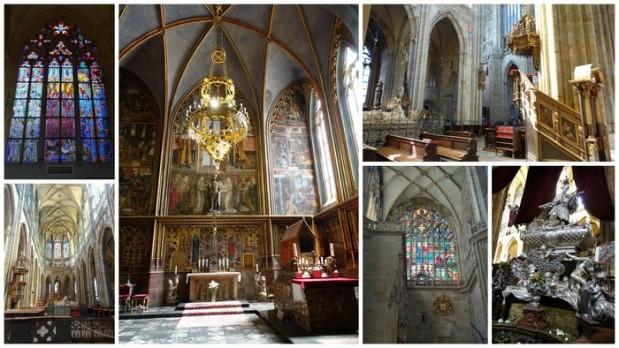 St. Wenceslas Chapel inside St Vitus Cathedral