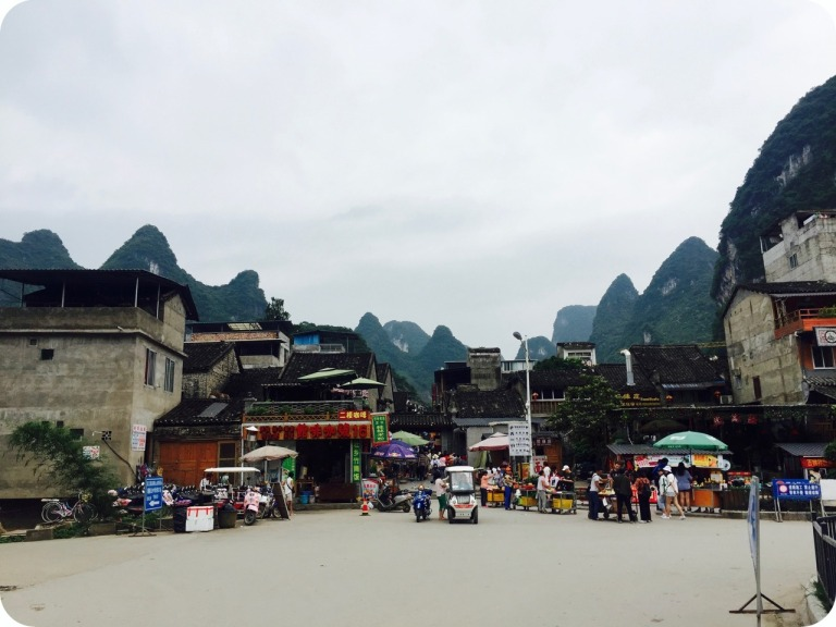 Little town of Xingping